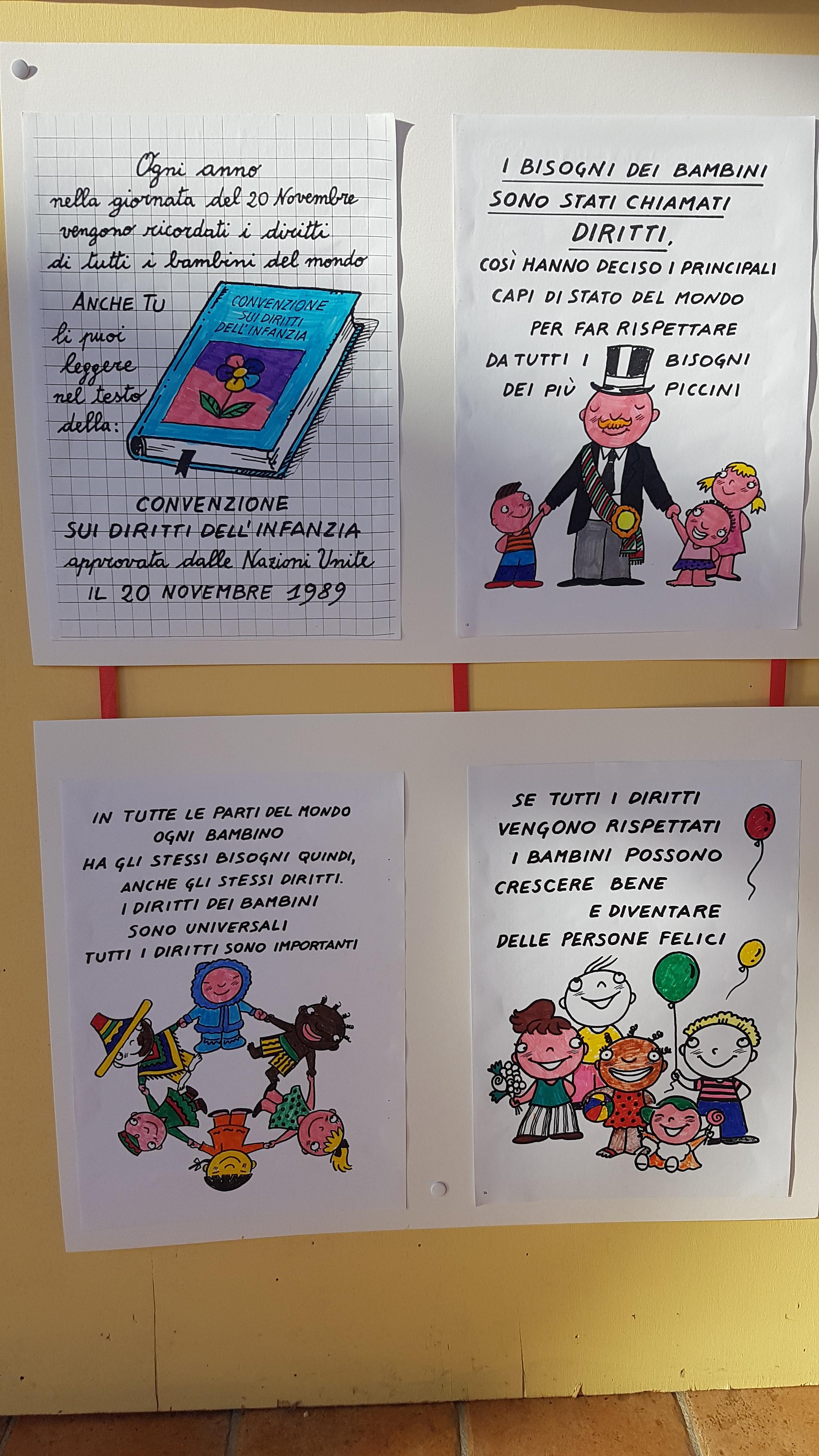 mostra diritti bambini